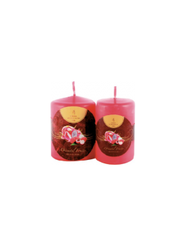 Wellness Flame-Thick Candles-MP810-H 10,0 cm-Ø 8,0 cm
