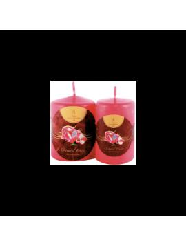 Candela Profumata - Wellness Flame Thick Candles - MP810 - H 10,0 cm - Ø 8,0 cm