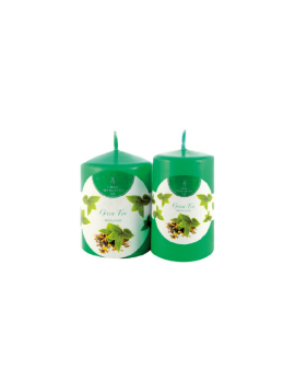 Scented Candles - Aroma Flame Thick Candles - MP609 - H 9,0 cm - Ø 6,0 cm