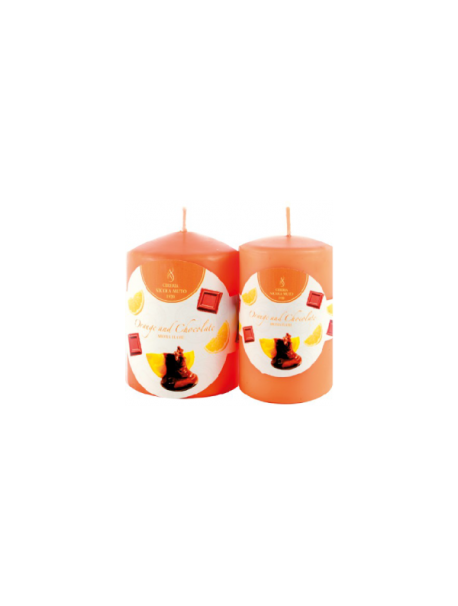 Aroma Flame-Thick Candles-MP609-H 9,0 cm-Ø 6,0 cm