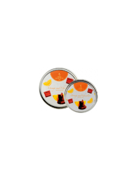 Scented Candles - Aroma Flame Tin - LT/P - H 2,7 cm - Ø 7,5 cm