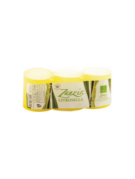 Candela alla Citronella - Zanzir - Bicchiere - ZB