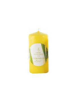 Candles Lemongrass - Zanzir - Z - H 10 cm - Ø 6 cm
