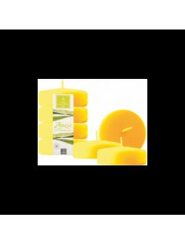 Candela alla Citronella - Zanzir - ZG - H 4 cm - Ø 6,4 cm