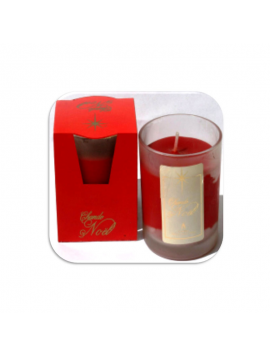 Candles - Frosted Glass Christmas - NB 70 - Cereria Muto 1920