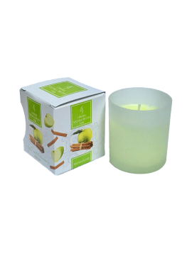 Scented Candles - Aroma Flame-Glass-BAG/P