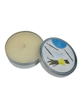 Scented Candles - Aroma Flame Tin - LT/G-H 4,0 cm - Ø 9,6 cm