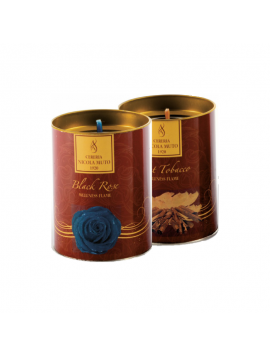 Candela Profumata - Wellness Flame Printed Candles - EC