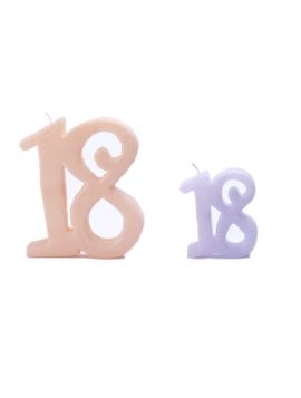Candela - Numeri - Candele per Eventi