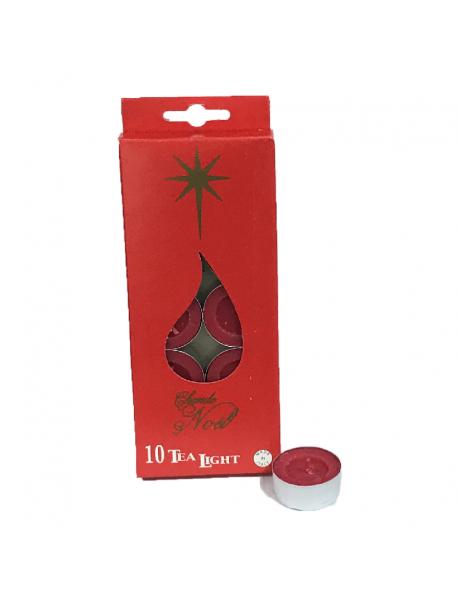 Tea Light Christmas NTL10